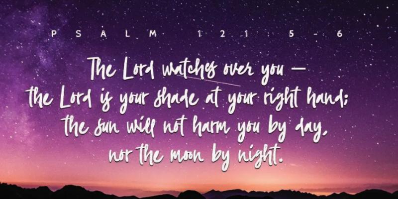 Phalm 121 5-6